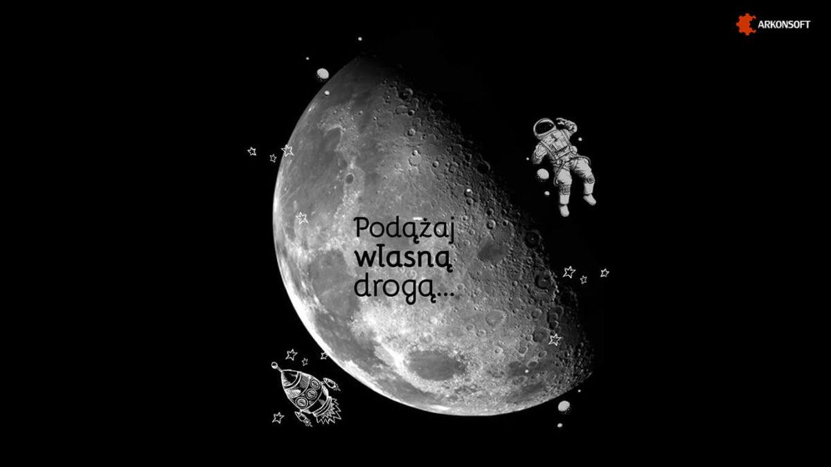 tapeta na pulpit - księżyc