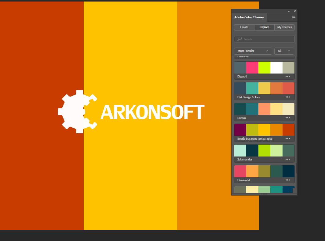 Darmowe wtyczki dla Photoshopa - Adobe Color CC Panel