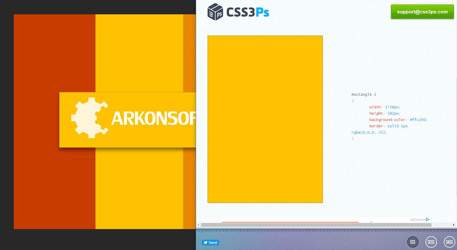 Darmowe wtyczki do Photoshopa - CSS3Ps