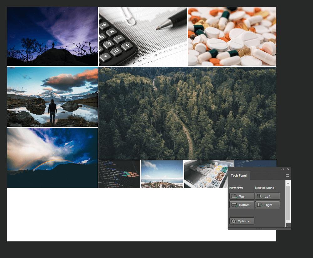 Darmowe wtyczki do Photoshopa - Tych Panel