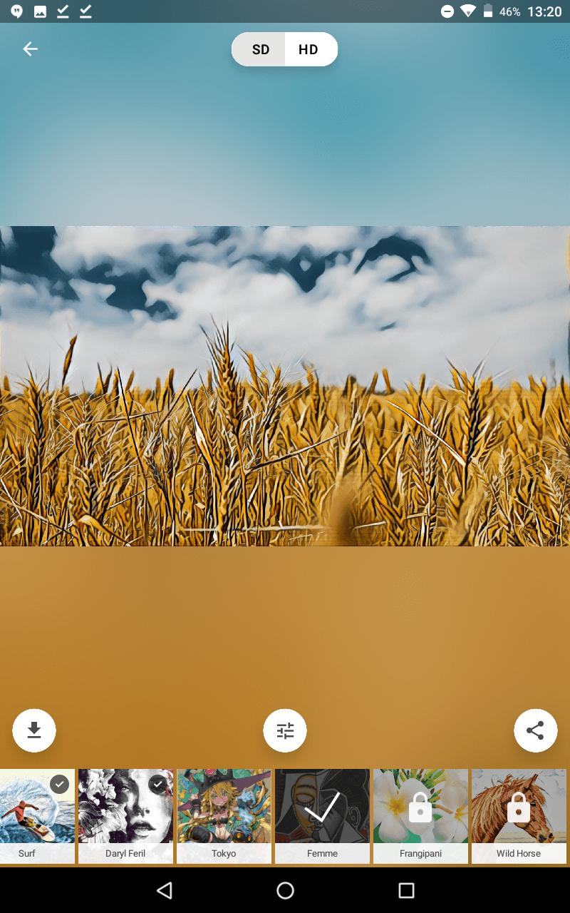 Aplikacja do artystycznego przerabiania zdjęć