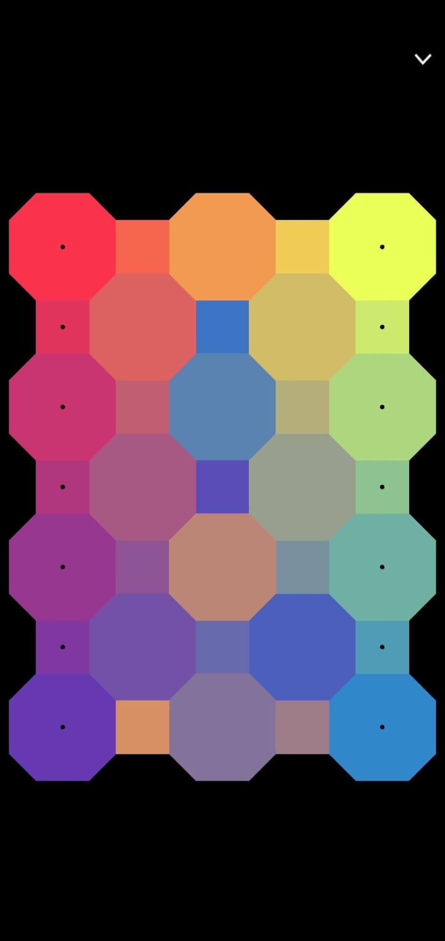 Ekran gry dla grafików - układnie kolorów
