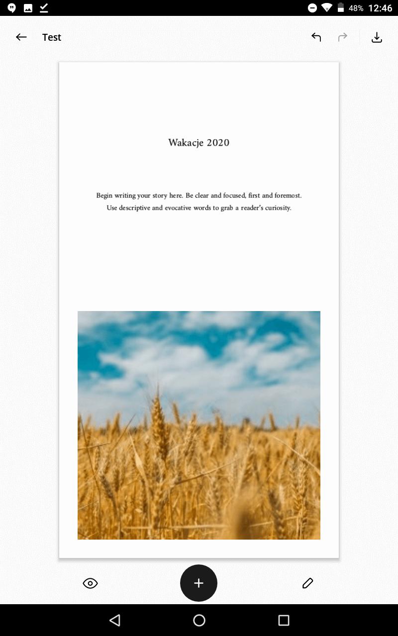 Unfold - aplikacja do tworzenia stories