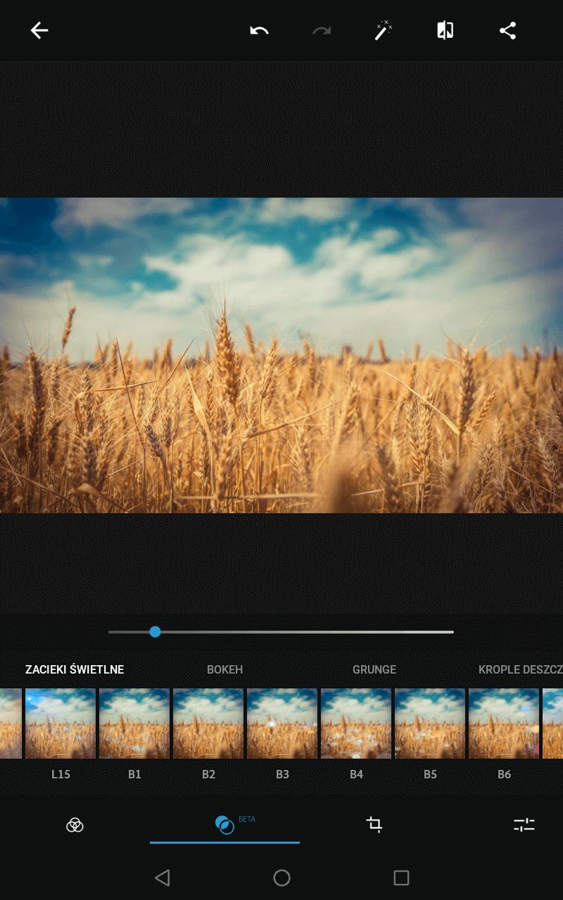 Aplikacje do obróbki zdjęć - Photoshop express