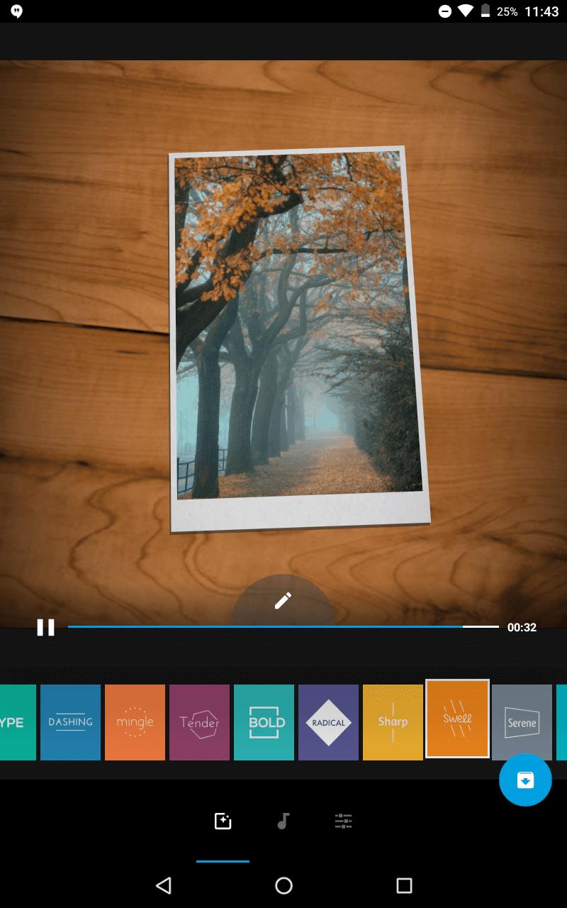 Prosta aplikacja do montażu wideo na telefonie.