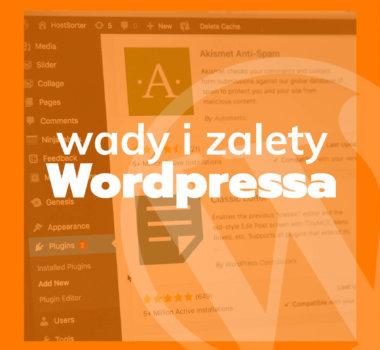wady i zalety systemu wordpress